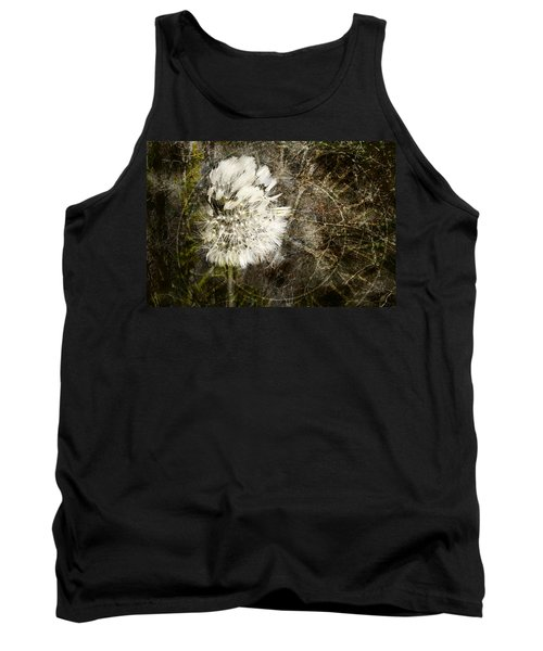 Tank Top featuring the photograph Dandelions Don't Care About The Time by Belinda Greb
