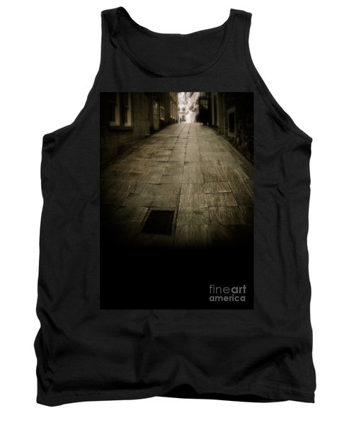 Dark Alley In Old Historic City Tank Top