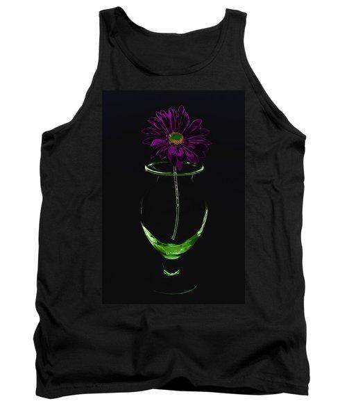 Dark Bloom Tank Top