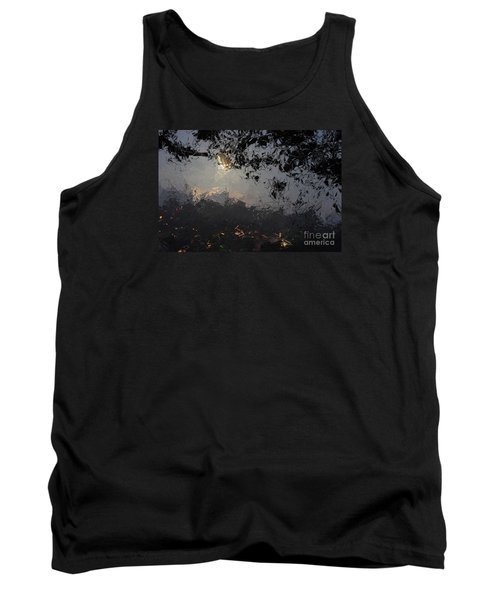Dark Rain Tank Top by The Art of Alice Terrill