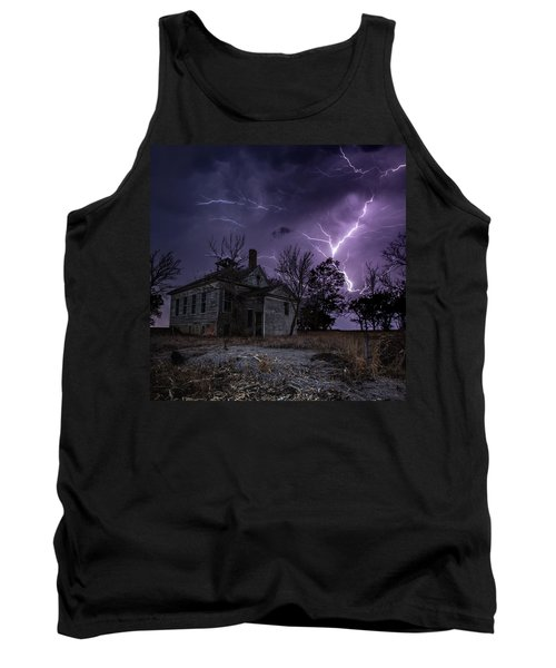 Dark Stormy Place Tank Top