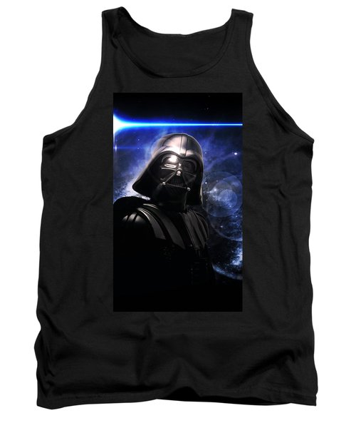 Tank Top featuring the photograph Darth Vader by Aaron Berg