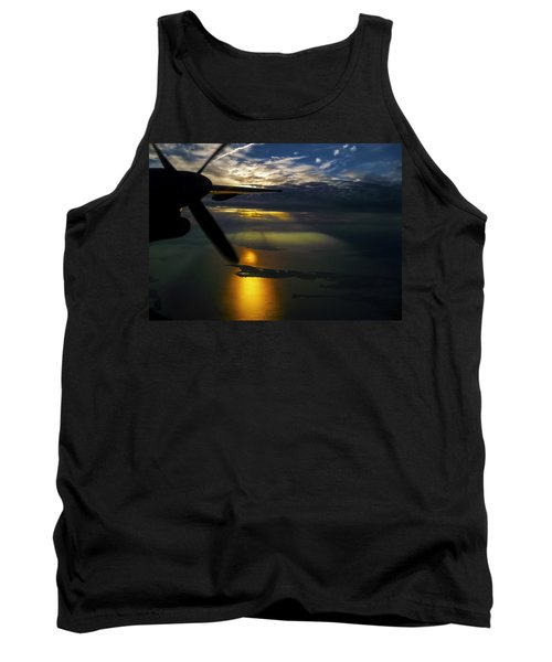 Dash Of Sunset Tank Top by Greg Reed