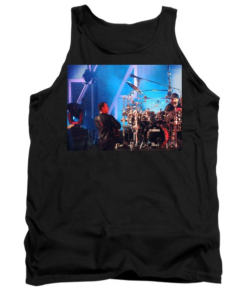 Tank Top featuring the photograph Dave Looks At Carter by Aaron Martens