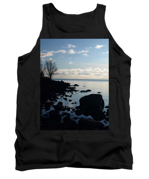 Tank Top featuring the photograph Dawn At The Cove by James Peterson