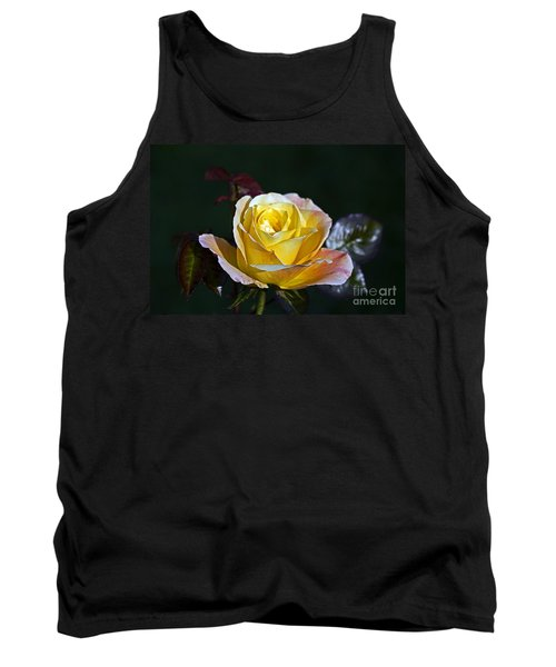 Tank Top featuring the photograph Day Breaker Rose by Kate Brown