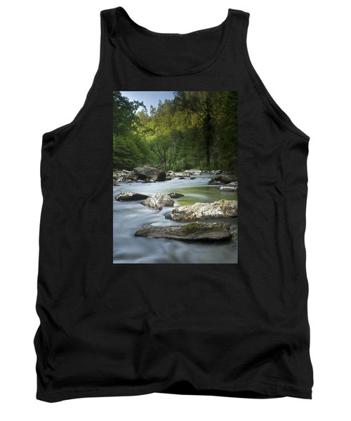 Daybreak In The Valley Tank Top by Andy Crawford