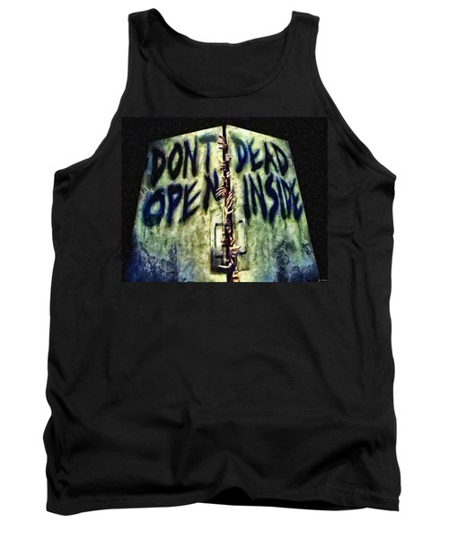 Dead Inside Tank Top by Joe Misrasi