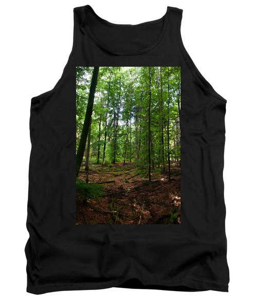 Deep Forest Trails Tank Top by Miguel Winterpacht