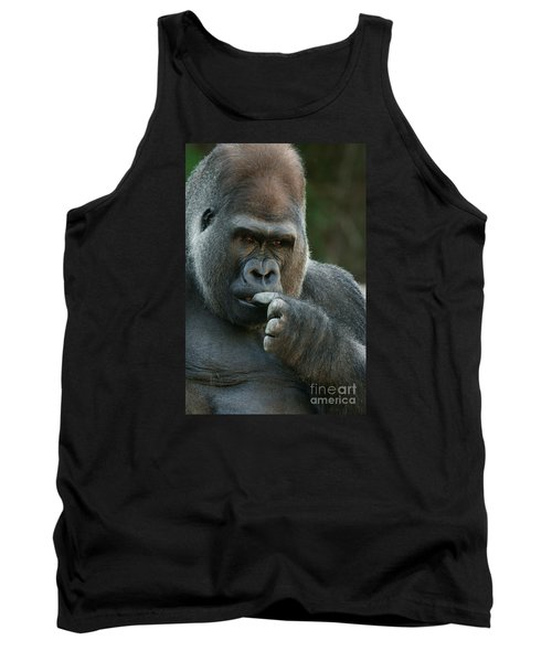 Deep In Thought Tank Top by Judy Whitton