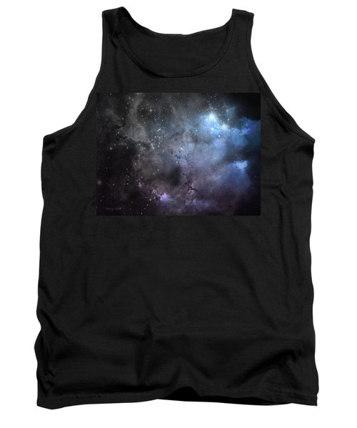 Deep Space Tank Top by Cynthia Lassiter