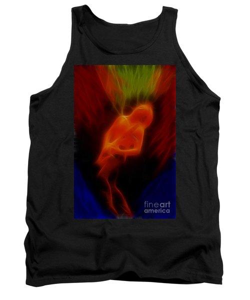 Def Leppard-adrenalize-gc13-phil-fractal Tank Top