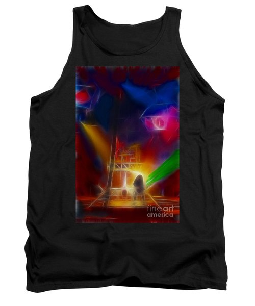 Def Leppard-adrenalize-gf10-fractal Tank Top by Gary Gingrich Galleries