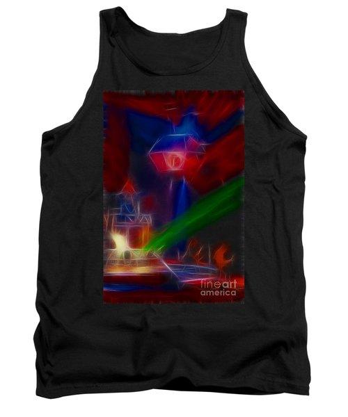 Def Leppard-adrenalize-gf12-fractal Tank Top
