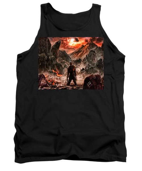 Defiant To The End Tank Top by Joe Misrasi