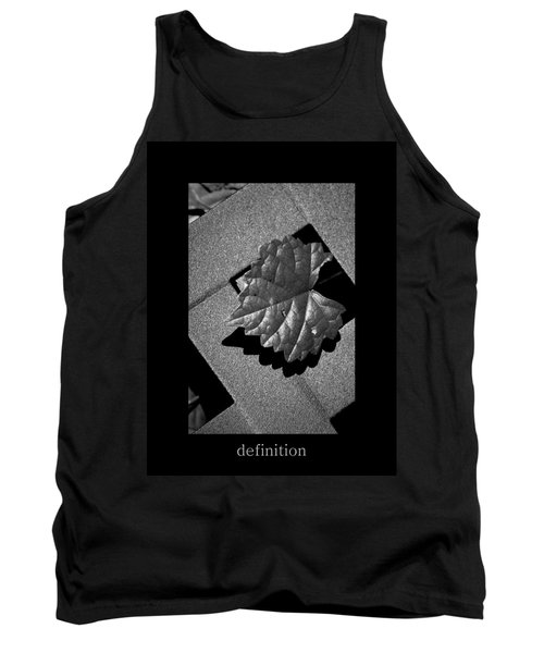 Definition Tank Top
