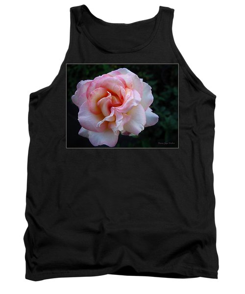 Tank Top featuring the photograph Delicate Pink by Joyce Dickens