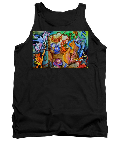 Demon Cats Tank Top