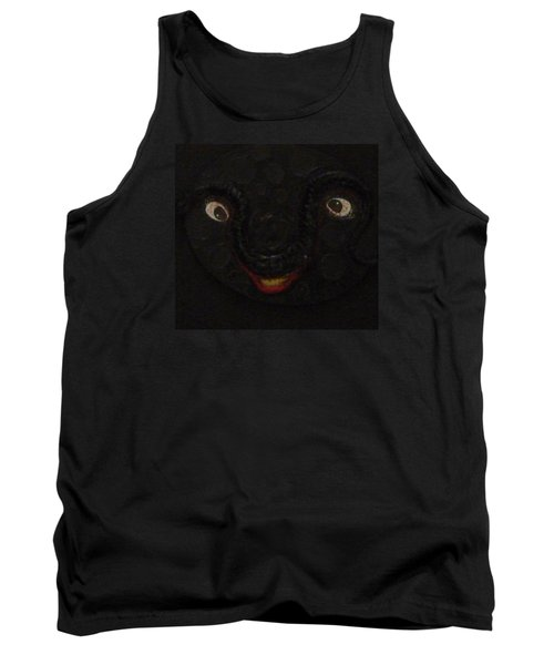 Tank Top featuring the mixed media Dark Smile by Douglas Fromm