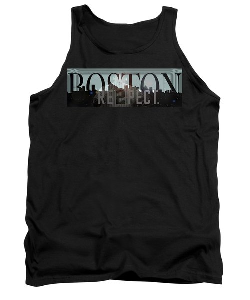 Derek Jeter - Boston Tank Top by Joann Vitali