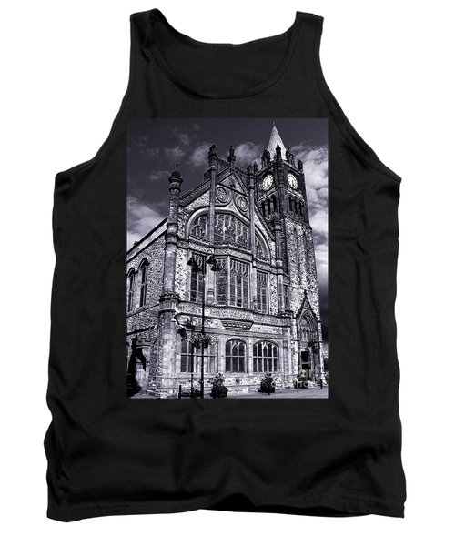 Tank Top featuring the photograph Derry Guildhall by Nina Ficur Feenan
