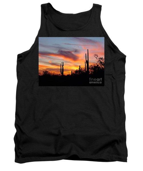 Desert Sunset Tank Top by Joseph Baril