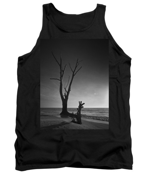 Deserted Beach Sunset Tank Top