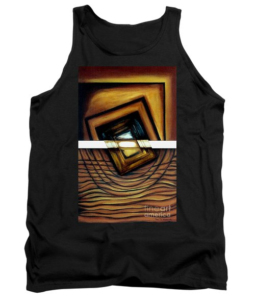 Tank Top featuring the painting Deversity View by Fei A