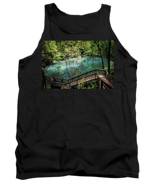 Tank Top featuring the photograph Devil's Millhopper by Joan Carroll