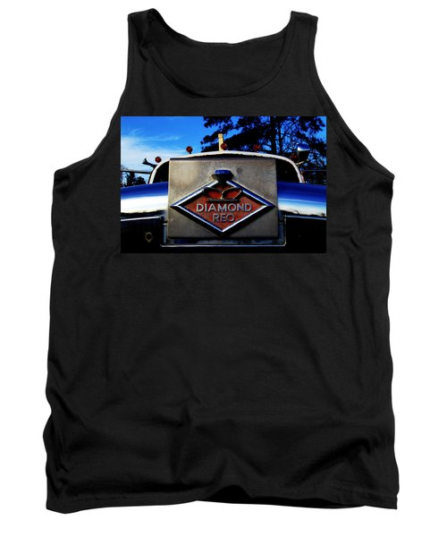 Diamond Reo Hood Ornament Tank Top