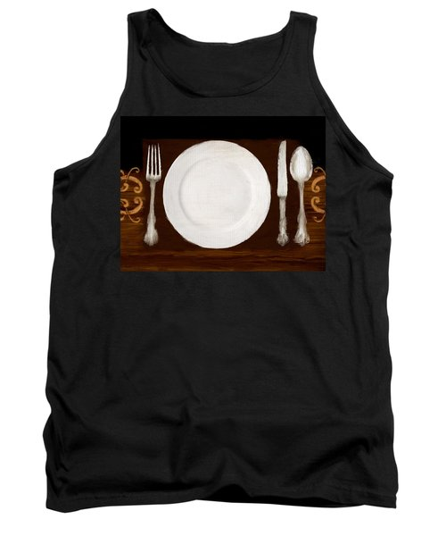 Dining Etiquette Tank Top