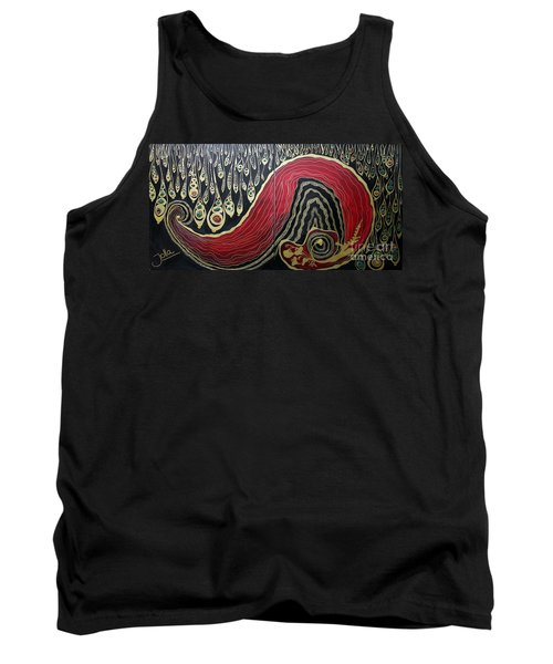 Dipped In Gold Diptich Tank Top