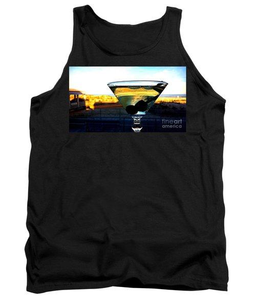 Dirty Martini On Beach Tank Top
