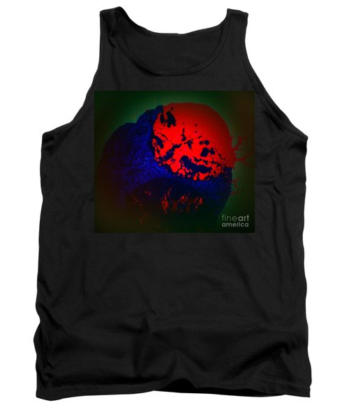 Tank Top featuring the painting Divide by Jacqueline McReynolds