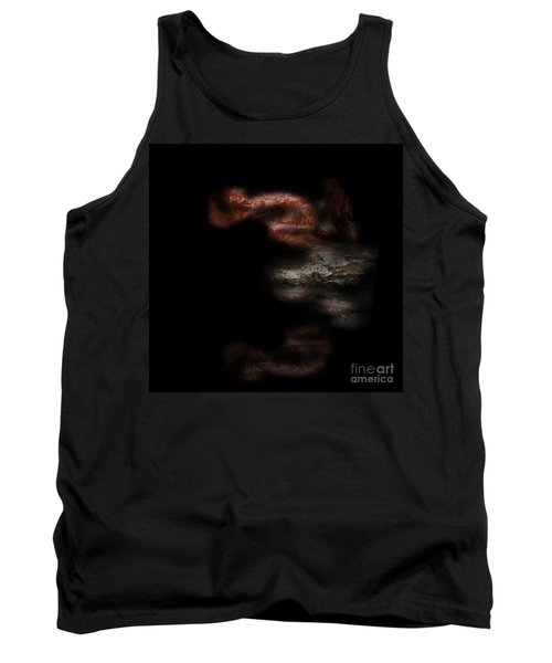 Tank Top featuring the digital art Diving In by Nicholas Burningham