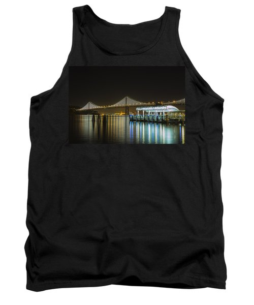 Docks And Bay Lights Tank Top