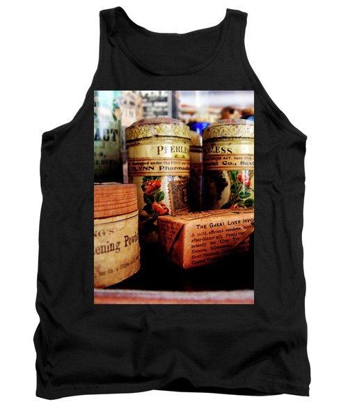 Doctor - Liver Pills In General Store Tank Top by Susan Savad