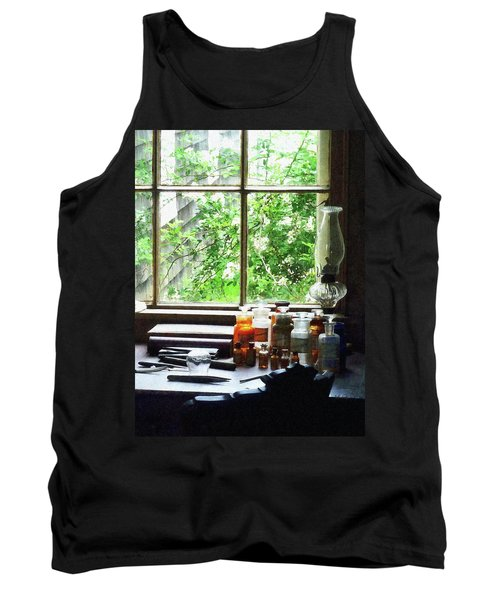 Doctor - Medicine And Hurricane Lamp Tank Top by Susan Savad