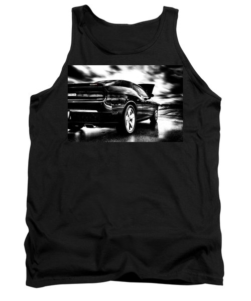 Dodge Challenger Srt In Hdr Tank Top by Michael White