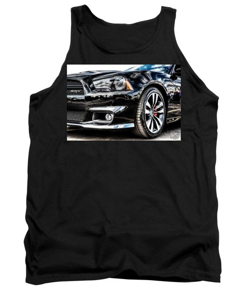 Dodge Charger Srt Tank Top by Michael White