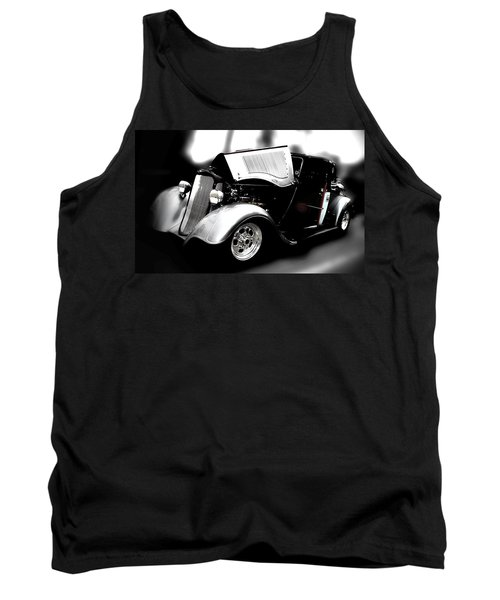 Hot Rod Tank Top featuring the photograph Dodge Power by Aaron Berg