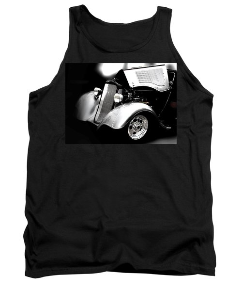 Hot Rod Tank Top featuring the photograph Dodge This by Aaron Berg