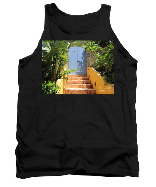 Doorway To Paradise Tank Top by Fiona Kennard