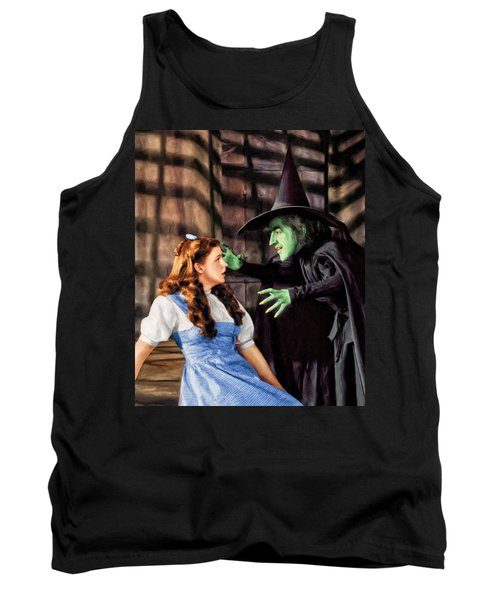 Dorothy And The Wicked Witch Tank Top