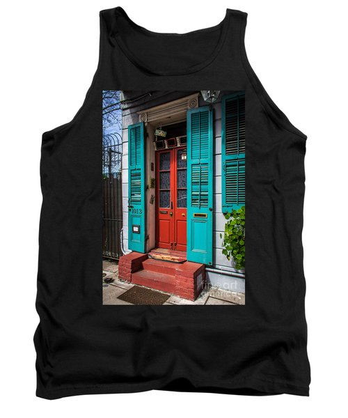 Double Red Door Tank Top by Perry Webster