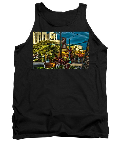 Down On Main Street Tank Top
