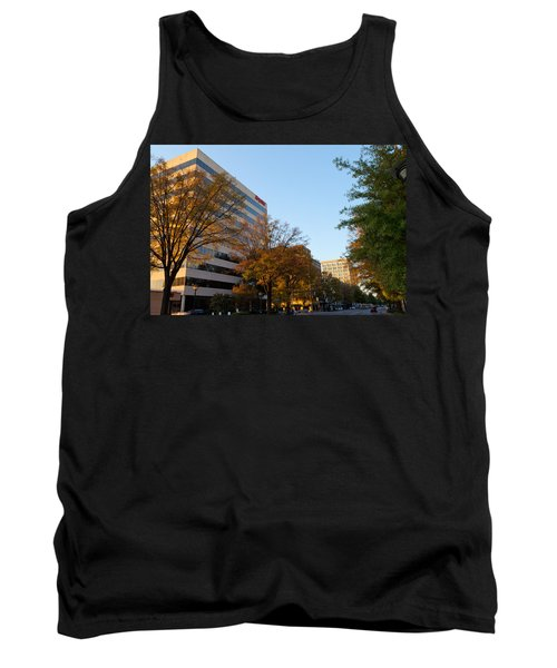 Downtown Chattanooga Tank Top by Melinda Fawver