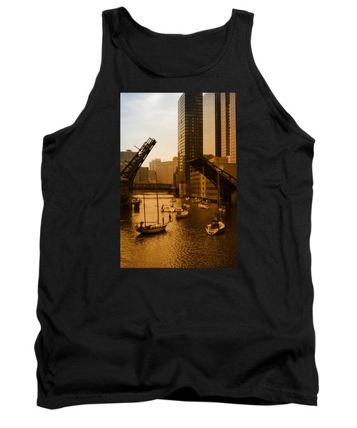 Downtown Chicago Tank Top by Miguel Winterpacht