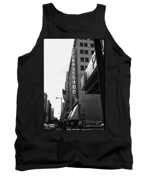Tank Top featuring the photograph Downtown La - Mid '70's by Doc Braham