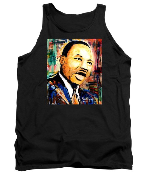 Dr. Martin Luther King Jr Tank Top by Everett Spruill